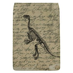 Dinosaur Skeleton Flap Covers (s)  by Valentinaart