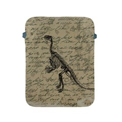 Dinosaur Skeleton Apple Ipad 2/3/4 Protective Soft Cases by Valentinaart