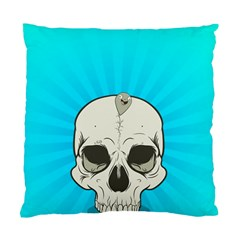 Skull Ball Line Schedule Standard Cushion Case (two Sides) by Simbadda