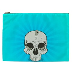 Skull Ball Line Schedule Cosmetic Bag (xxl)  by Simbadda