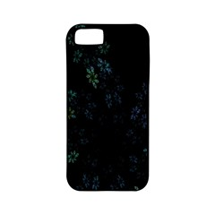 Fractal Pattern Black Background Apple Iphone 5 Classic Hardshell Case (pc+silicone) by Simbadda