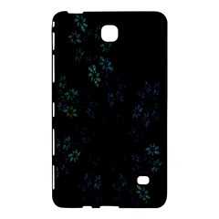 Fractal Pattern Black Background Samsung Galaxy Tab 4 (8 ) Hardshell Case  by Simbadda