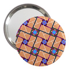 Overlaid Patterns 3  Handbag Mirrors by Simbadda