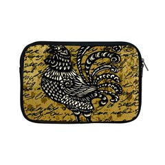 Vintage Rooster  Apple Ipad Mini Zipper Cases by Valentinaart