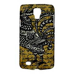 Vintage Rooster  Galaxy S4 Active by Valentinaart