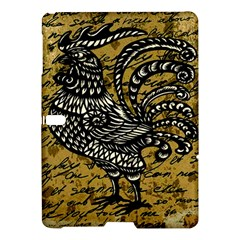 Vintage Rooster  Samsung Galaxy Tab S (10 5 ) Hardshell Case  by Valentinaart