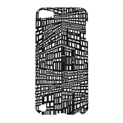 Recursive Subdivision Between 5 Source Lines Screen Black Apple Ipod Touch 5 Hardshell Case by Simbadda