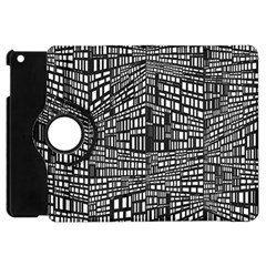 Recursive Subdivision Between 5 Source Lines Screen Black Apple Ipad Mini Flip 360 Case
