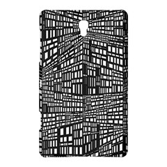 Recursive Subdivision Between 5 Source Lines Screen Black Samsung Galaxy Tab S (8 4 ) Hardshell Case