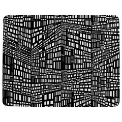 Recursive Subdivision Between 5 Source Lines Screen Black Jigsaw Puzzle Photo Stand (rectangular) by Simbadda