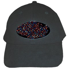America Usa Map Stars Vector  Black Cap by Simbadda
