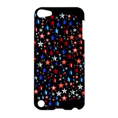 America Usa Map Stars Vector  Apple Ipod Touch 5 Hardshell Case by Simbadda