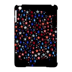 America Usa Map Stars Vector  Apple Ipad Mini Hardshell Case (compatible With Smart Cover)