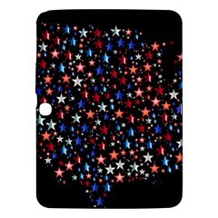 America Usa Map Stars Vector  Samsung Galaxy Tab 3 (10 1 ) P5200 Hardshell Case
