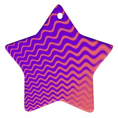 Pink And Purple Ornament (star)