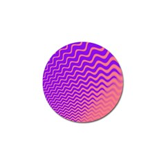 Pink And Purple Golf Ball Marker (10 Pack)