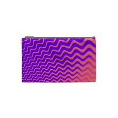 Pink And Purple Cosmetic Bag (small)