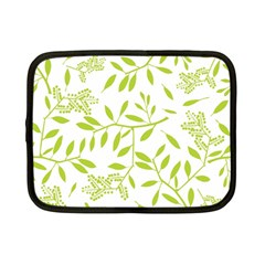 Leaves Pattern Seamless Netbook Case (small)