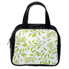 Leaves Pattern Seamless Classic Handbags (one Side) by Simbadda