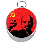Lenin  Silver Compasses Front