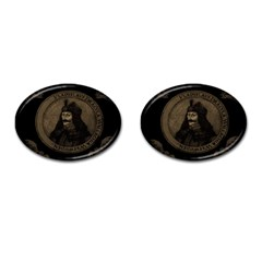 Count Vlad Dracula Cufflinks (oval) by Valentinaart