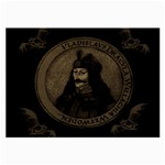 Count Vlad Dracula Large Glasses Cloth (2-Side) Front
