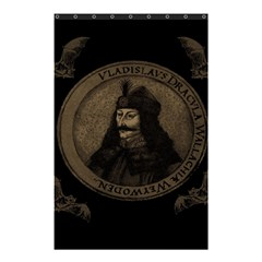 Count Vlad Dracula Shower Curtain 48  X 72  (small)  by Valentinaart