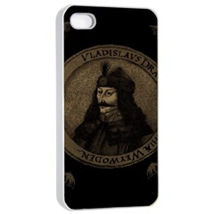 Count Vlad Dracula Apple Iphone 4/4s Seamless Case (white)