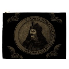 Count Vlad Dracula Cosmetic Bag (xxl)  by Valentinaart