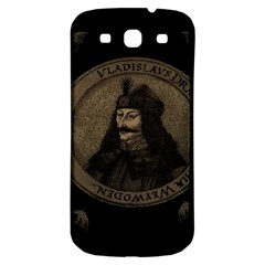 Count Vlad Dracula Samsung Galaxy S3 S Iii Classic Hardshell Back Case by Valentinaart