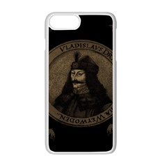 Count Vlad Dracula Apple Iphone 7 Plus White Seamless Case by Valentinaart