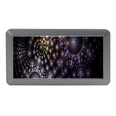 Fractal Patterns Dark Circles Memory Card Reader (mini) by Simbadda