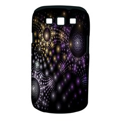 Fractal Patterns Dark Circles Samsung Galaxy S Iii Classic Hardshell Case (pc+silicone)