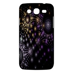 Fractal Patterns Dark Circles Samsung Galaxy Mega 5 8 I9152 Hardshell Case  by Simbadda
