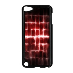 Electric Lines Pattern Apple Ipod Touch 5 Case (black) by Simbadda