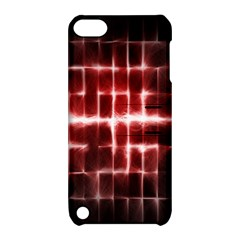 Electric Lines Pattern Apple Ipod Touch 5 Hardshell Case With Stand by Simbadda