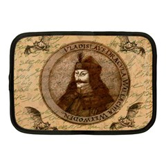 Count Vlad Dracula Netbook Case (medium)  by Valentinaart