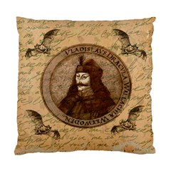 Count Vlad Dracula Standard Cushion Case (one Side) by Valentinaart