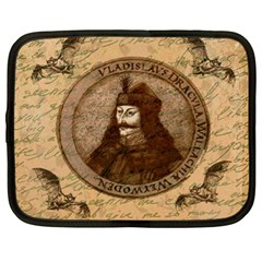 Count Vlad Dracula Netbook Case (xl)  by Valentinaart