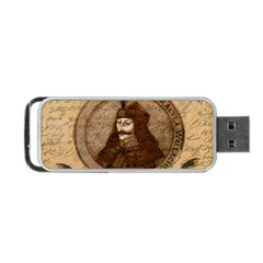 Count Vlad Dracula Portable Usb Flash (two Sides) by Valentinaart