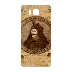 Count Vlad Dracula Samsung Galaxy Alpha Hardshell Back Case by Valentinaart