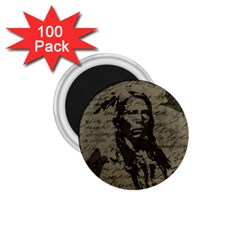 Indian Chief 1 75  Magnets (100 Pack)  by Valentinaart