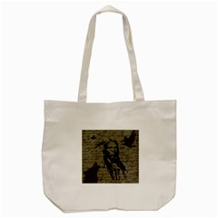 Indian Chief Tote Bag (cream) by Valentinaart