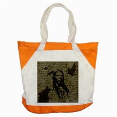 Indian Chief Accent Tote Bag by Valentinaart