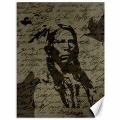 Indian Chief Canvas 36  X 48   by Valentinaart