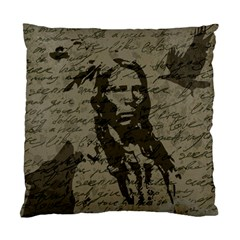 Indian Chief Standard Cushion Case (one Side) by Valentinaart