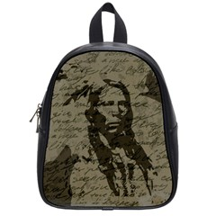 Indian Chief School Bags (small)  by Valentinaart