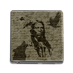Indian Chief Memory Card Reader (square) by Valentinaart
