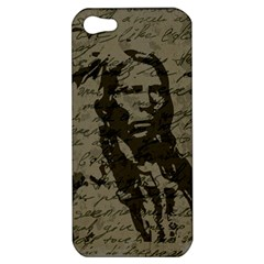 Indian Chief Apple Iphone 5 Hardshell Case by Valentinaart