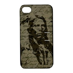 Indian Chief Apple Iphone 4/4s Hardshell Case With Stand by Valentinaart